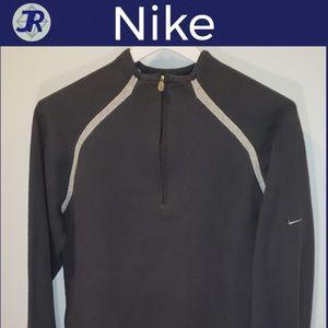 🕶Quarter-Zip Pullover Sweatshirt-Nike Gray